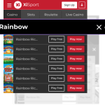 Multi-vertical Casino engine enabling search across all gaming products